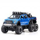 1:32 Alloy Car Model High Class SUV Doors Open Excellent Performance with Light Sound Design Delicate Collection  blue