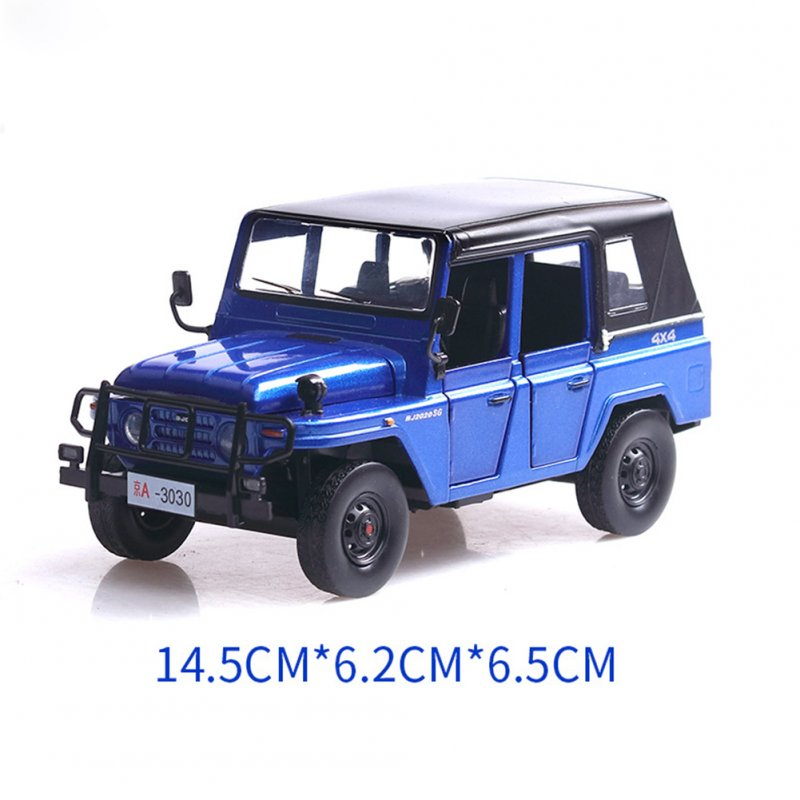 1:32 Alloy Sound Light Pull Back Simulate Car Toy for Kids blue