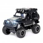 1:32 Doors Open Simulate Alloy Car Modeling Sound Light Toy with Big Wheels for Kids Collection black
