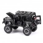 1:32 G63 G500 Metal Alloy Car Model Toy  with light Sound for Kids black