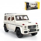 1:32 Simulation Alloy Car Model Light Sound Effect Doors Open Pull Back Auto Toy Gift Collection white