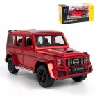 1:32 Simulation Alloy Car Model Light Sound Effect Doors Open Pull Back Auto Toy Gift Collection red