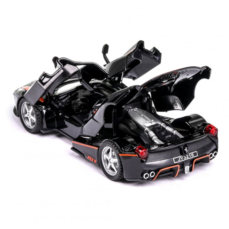 1:32FXX K Alloy Sports Car Model Toy Christmas Gifts for Children black