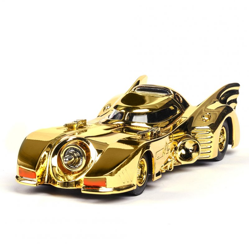 1:38 High Simulation Car Alloy Chariot Home Decoration Cute Collection Christmas Gift Car Model Toy for Kids Boys Toddlers Gold