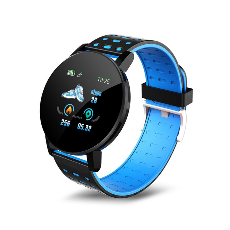1.3inch Sport Watch Intelligent Watch Bracelet Message Information Heart Rate Monitor Watch for Android iOS Blue
