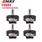 1 4PCS Emax Freestyle FS2306 1700KV 3 6S   2400KV 3 4S Brushless Motor for Buzz Hawk RC Drone FPV Racing Spare Parts Accessories 4pcs 1700kv