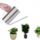 1.5L Stainless Steel Watering Flower Kettle Long Mouth Watering Pot Gardening Tools  silver