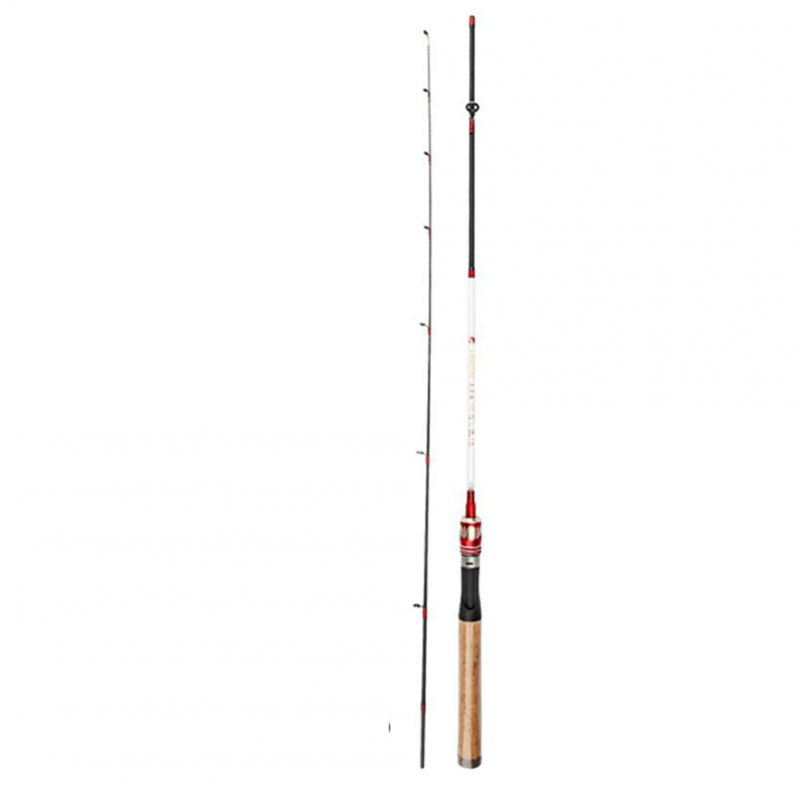 1.68/1.98m Lightweight Fishing Rod Carbon Solid Short Fishing Pole Bream Snapper  Straight shank