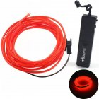 1.75M 1W Sound Sensor EL Cold Light String Bicycle Car Bag Decoration