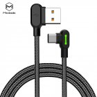 1 8m Mcdodo Buttom Series Elbow Head Design Charging Gaming Cable Type C Cable