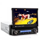 1 DIN 7 Inch Flip Out Screen Car DVD Player with a Detachable Front Panel as well as GPS navigation is the new way to ride