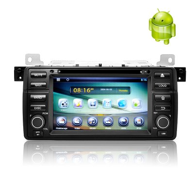 1 DIN Android 4.2 Car DVD Player for BMW E46