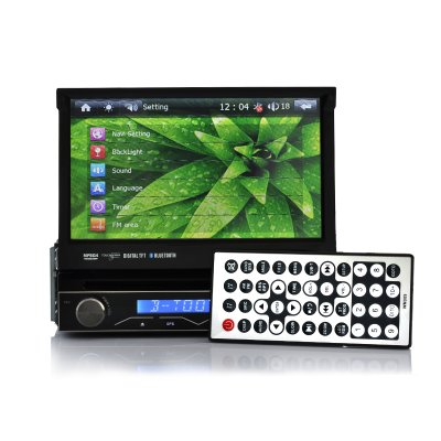 1 DIN Car DVD Player with DVB-T - Blastwave