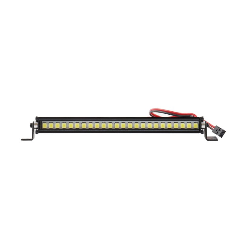 1 PC Super Bright 36 LED Roof Light Lamp Bar Metal RC Truck Crawler Roof Light for 1:10 RC Crawler Accessories Medium long