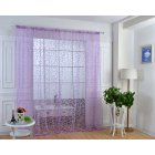1 PCS Soft Purple Translucidus Window Curtain of Modern Style Home decoration choice