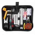 Guitar Repairing Tool Kit Guitar Care Maintenance Set String Fret Replace File Cleaning Accessories