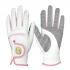 1 Pair Of Women's Golf  Gloves Sheepskin Non-slip Wear-resistant Breathable Gloves 21 yards