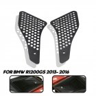 1 Pair of Motorcycle Air Intake Grille Guard Cover for BMW BWM Waterbird 1200GS15-16 black