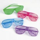 1 Pcs Glasses Creattive Shutters Style Party Wedding Bright Color Charming Night Club Concert Props