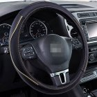1 Pcs Universal Car Steering Wheel Cover Breathable Anti- Slip Comfortable Fit Diameter 36cm 38cm 40cm