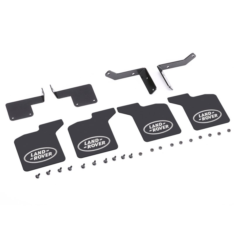 1 Set 4pcs Rubber Front And Rear Fenders Modified Upgrade Accessories For 1/10 Rc Crawler Car Traxxas Trx-4 Trx4 D90 Land Rover as shown