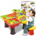 1 Set Children Beach Table Sand Play Toys Set