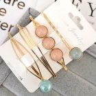 1 Set Women Delicate Fashion Style Hair Clip No. 3 hairpin set