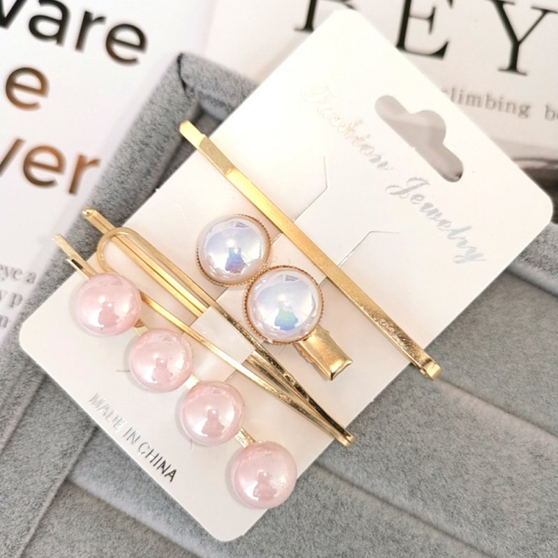 1 Set Women Delicate Fashion Style Hair Clip No. 5 hairpin set