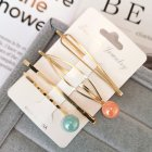 1 Set Women Delicate Fashion Style Hair Clip No. 8 hairpin set
