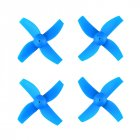 1 Set of 4PCS Propellers Blades Props Micro Drone Spare Parts for JJRC H36 RC Quadcopter