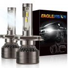 1 pair LED Headlight Bulb 60W 6,000LM ZES-3575 LED chip Automobile LED headlight Car Headlamp H4/9003