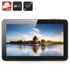 10 1 Inch Quad Core Android 4 4 tablet PC with 16GB of Internal memory and a micro SD card slot