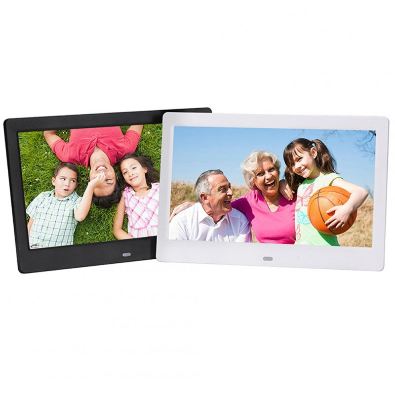 10.1 Inch Digital Photo Frame-Black US Plug