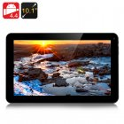 10 1 inch MTK8127 quad core tablet PC with Android 4 4 OS has 1GB or RAM  16GB of internal memory  built in GPS and a micro SD card slot