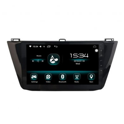 10 2 inch 4G RAM Octa Core Android 9 0 1 Car DVD GPS Navigation Player for  Tiguan 2016-2017