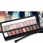 10 Colors Pearl Matte Professional Eyeshadow Palette Long-lasting Natural 2#