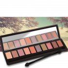 10 Colors Pearl Matte Professional Eyeshadow Palette Long-lasting Natural 3#