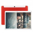 10 Inch Tablet Computer Ten Core High Definition GPS Navigation 4G Dual Card Full Netcom WIFI Red ten core 4G full Netcom game version EU Plug
