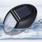 10 LEDs Outdoor Solar Wall Lamp Waterproof Sensor Garden Light for Home Villa 10LED