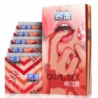10 Pcs Ultra Thin Sensation Penis Cock Sleeve Natural Latex Condoms Sex Toy for Men 10pcs