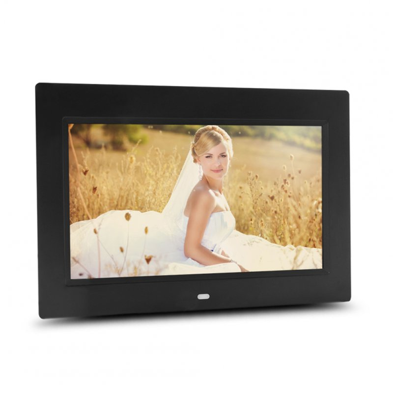 10 inch HD Photos Frames-Black EU Plugs