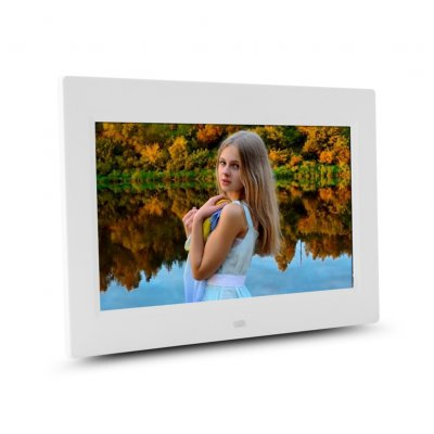 10 inch HD Digital Photo Frame-White EU Plug