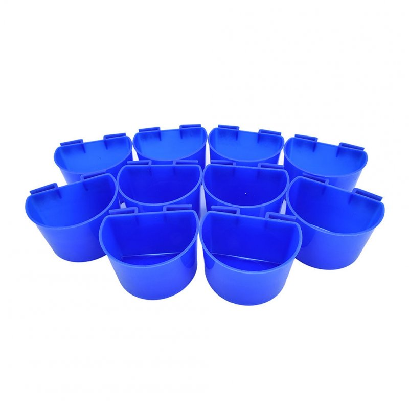 10 pcs Cup Hanging Water Feed Cage Cups