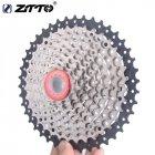 10-speed Bike Flywheel  Big Tooth Cassette 11-40t Climbing Flywheel for Mountain Bike Black silver