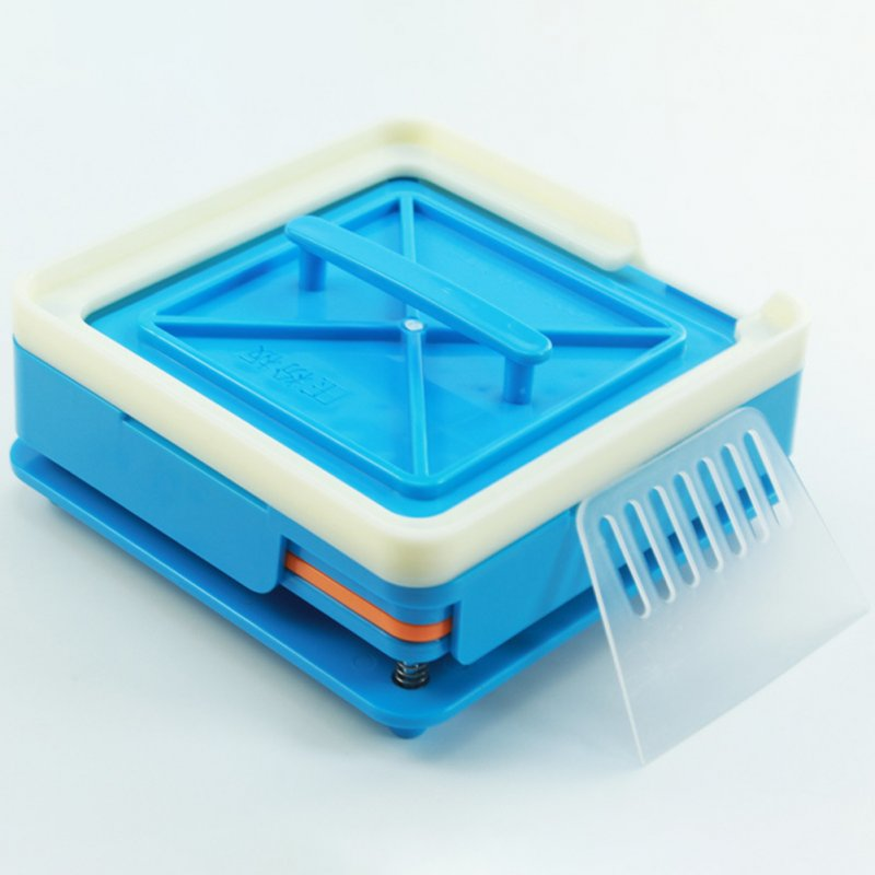 100 Holes Capsule Filling Machine Manual Medicine 1# Capsule Plate blue