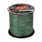100 PE Plastic Braided Fishing Line 20LB Test Moss 0 23mm Diameter 500M Length
