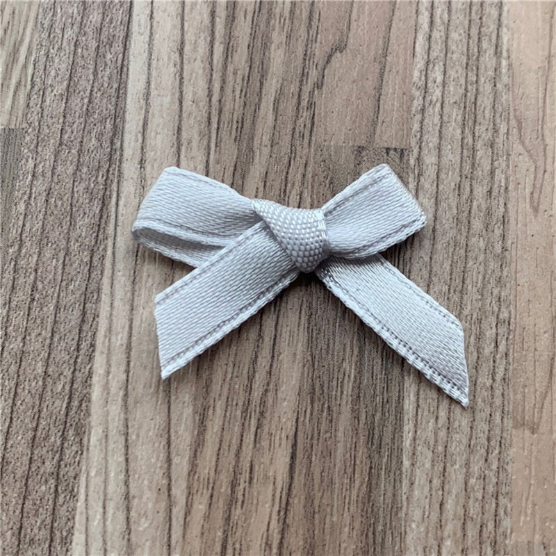 1000pcs/lot Handmade Bow Flower Tie Appliques for Wedding Scrapbooking Crafts Accessory 14#