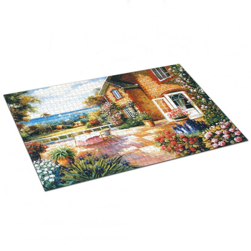1000pcs/set Jigsaw Puzzles for Children Adult Relax Educational Puzzle Toys 88012