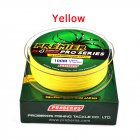 100M Strong Braided Wire Fishing Line Yellow