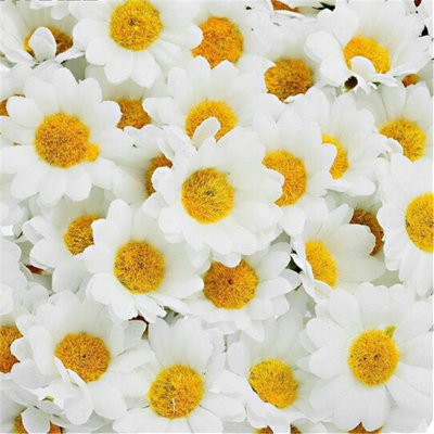 Artificial Flowers White Daisy